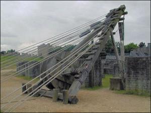 Roman tower crane