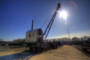 old-steam-crane abur